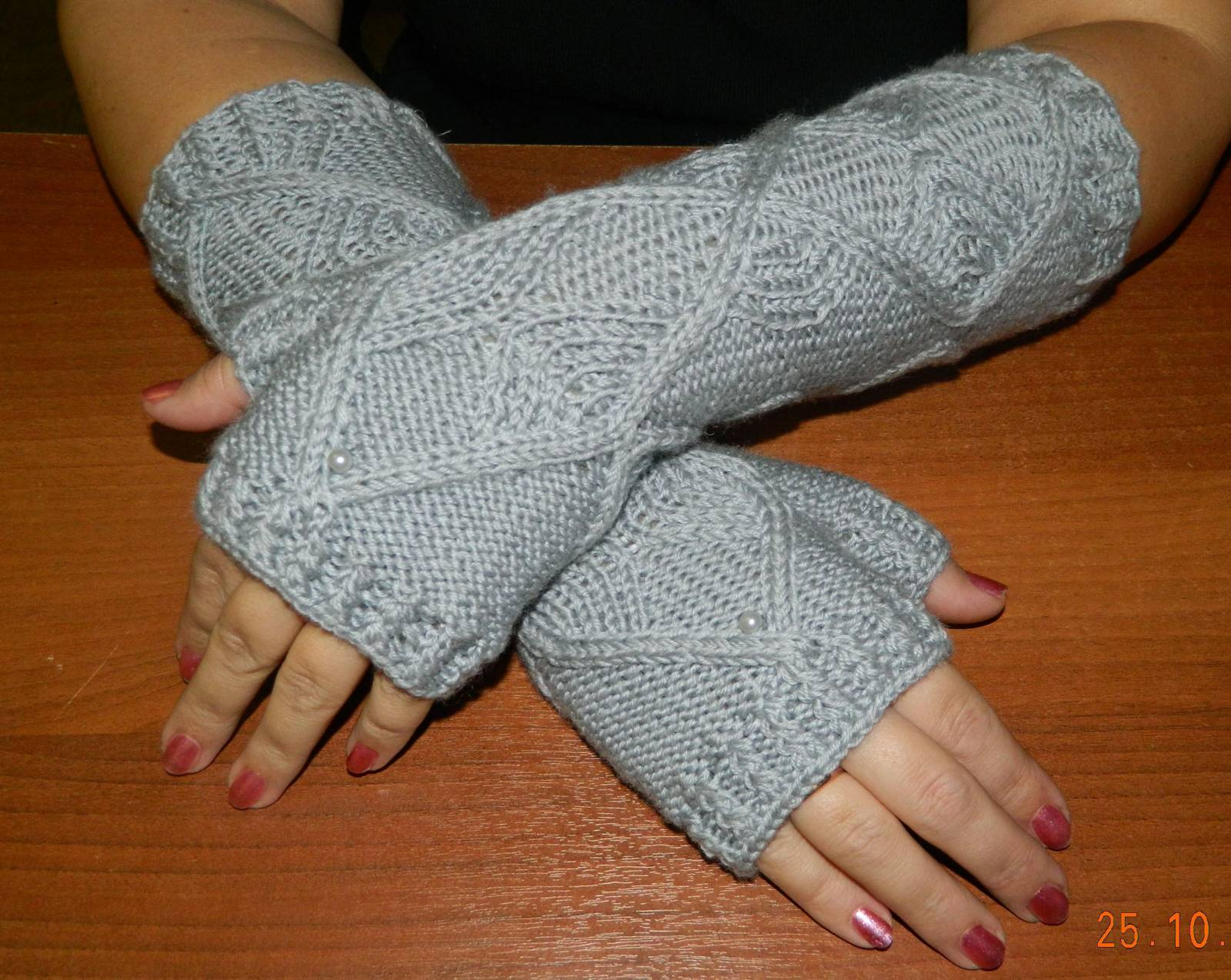 Мастер класс по вязанию перчаток 331